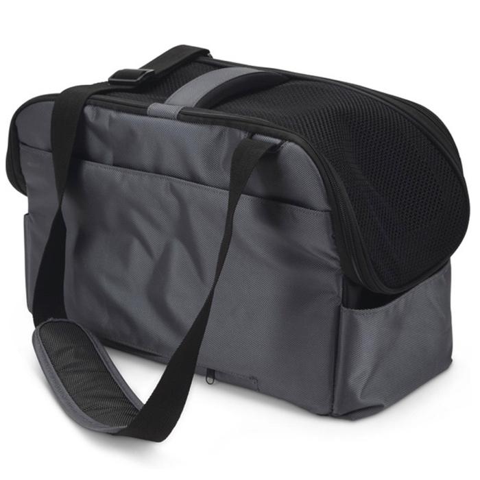 Pet Travel/Car Bag - Grey 44x20x27cm