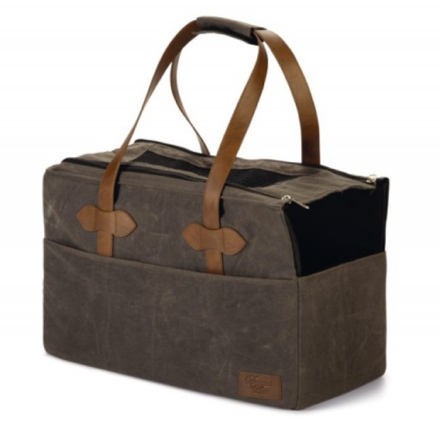 Pet Carrying Bag Stone Washed -  Brown 43x21x28cm