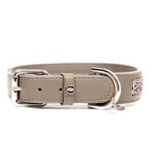 Quarts Vegan leather Collar - Taupe