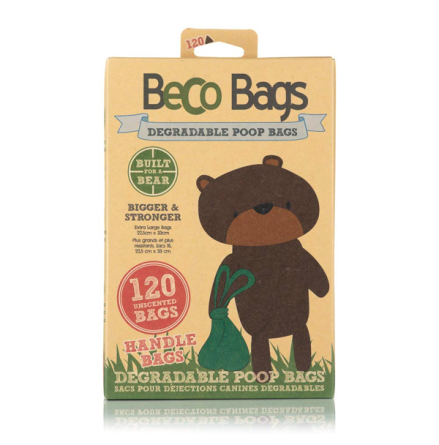 Eco Friendly Large Poobags - Green 120pcs