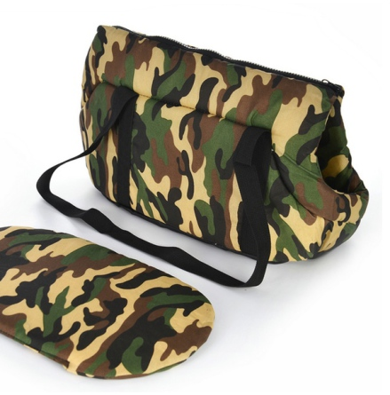 Light Pet Canvas Bag - Camo