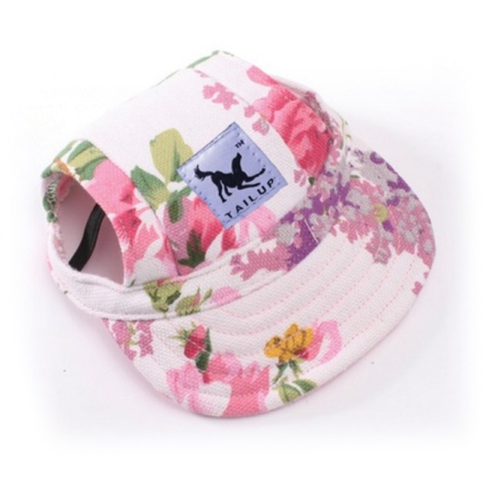 Cute Protective Pet Cap - Flowers