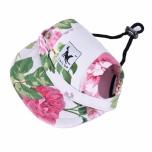 Cute Protective Pet Cap - Flowers