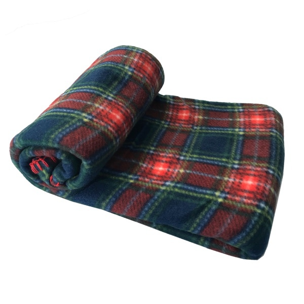 Blanket Checked Patern - Red/Blue