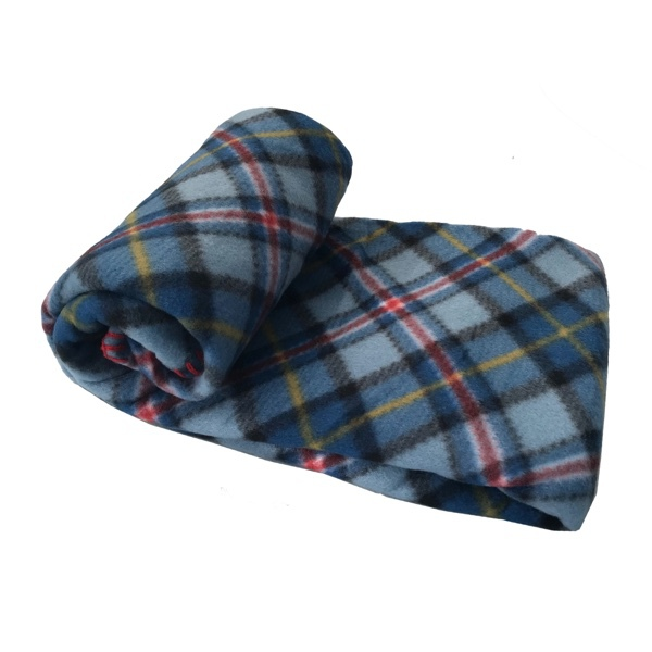 Blanket Checked Patern - Blue