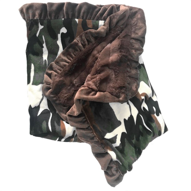 Lux Cuddle Blanket - Camo