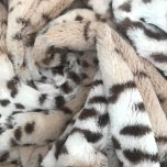 Lux Cuddle Blanket - Ice Leopard