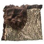 Lux Cuddle Blanket - Leopard