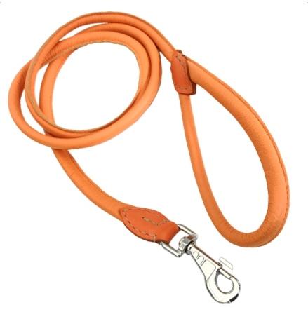 Round Leash - Orange