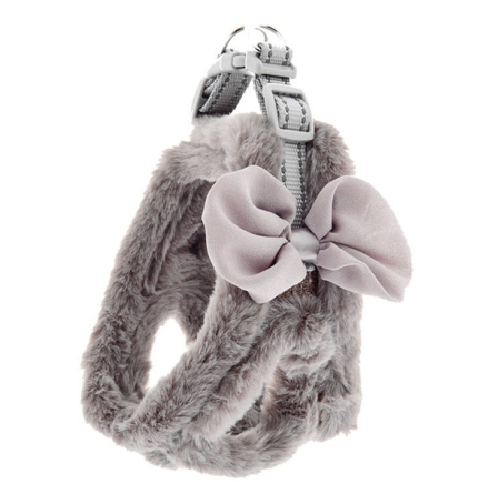 Fluffy Harness - Grey