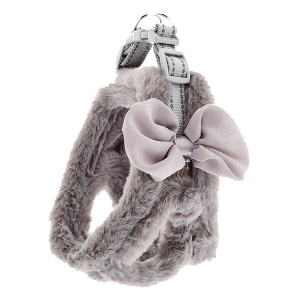 Fluffy Harness - Grey
