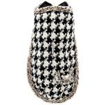 Coat Houndtooth Pattern - Black/White 24cm