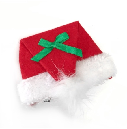 Paper/Filt Santa Hat - Red
